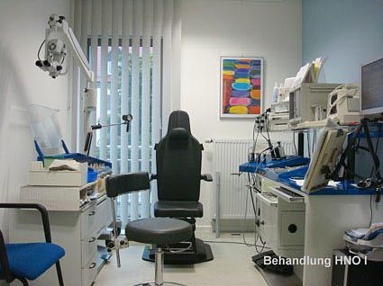 Einrichtung - HNO-Facharztpraxis am Marienplatz in 84130 Dingolfing