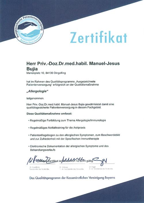 Allergologie - HNO-Facharztpraxis am Marienplatz in 84130 Dingolfing