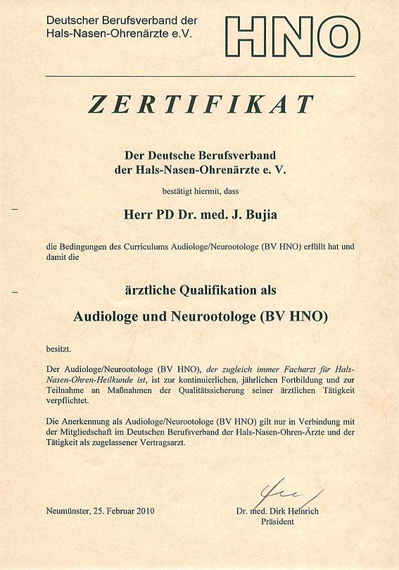Audiologe & Neurootologe - HNO-Facharztpraxis am Marienplatz in 84130 Dingolfing