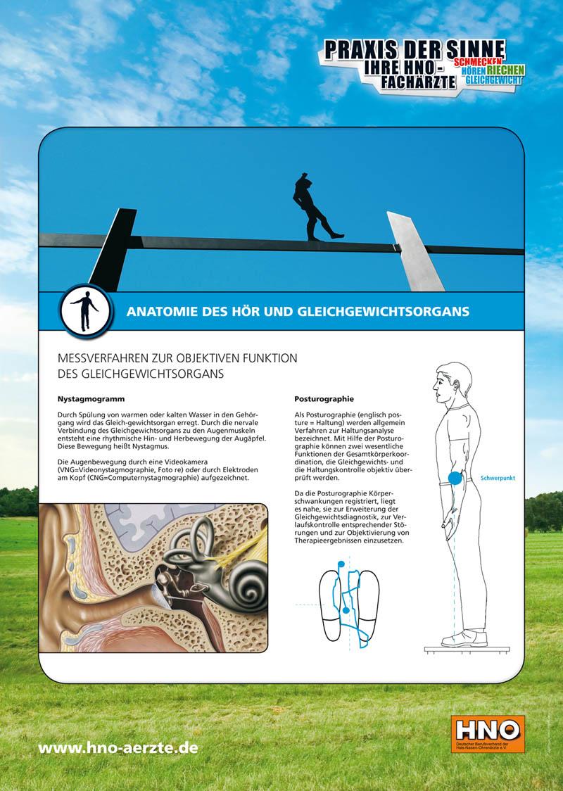 Gleichgewichtsprüfung - HNO-Facharztpraxis am Marienplatz in 84130 Dingolfing